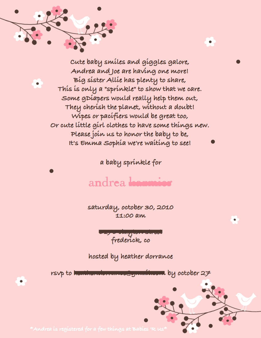 baby shower poems for invitations the poem is a blend of things