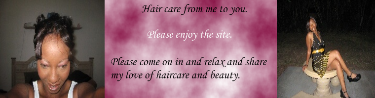 Hair care from me to you.