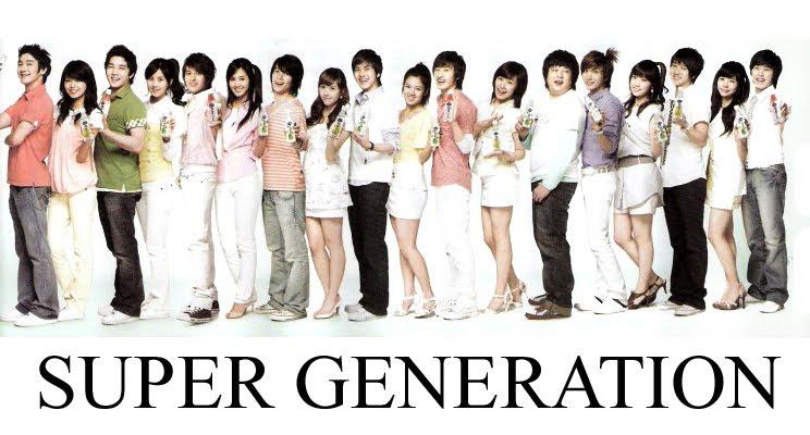 Girls Generation and Super Junior