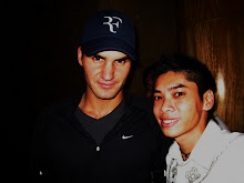 15th Time Grand Slam Tennis Champion & LEGEND Roger Federer & Myself