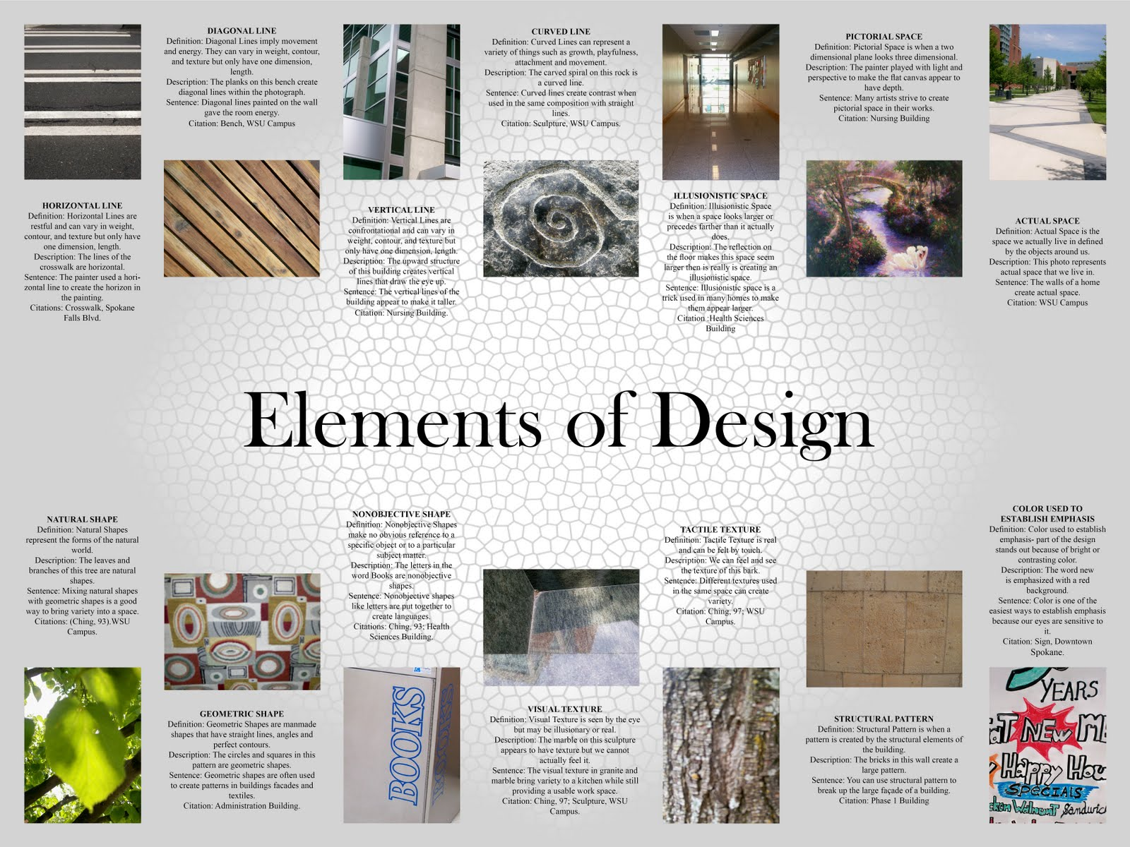 Three Elements Of Design : Shannon stewart elements and principles of design