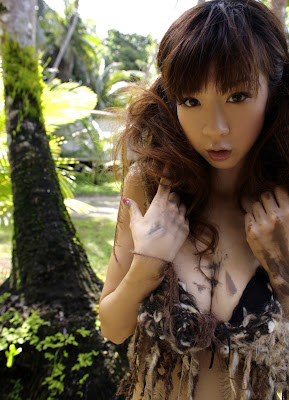 Aki Hoshino jungle out there dress
