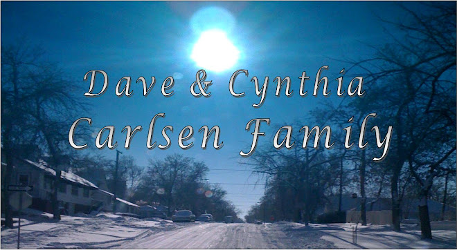 Dave and Cynthia Carlsen