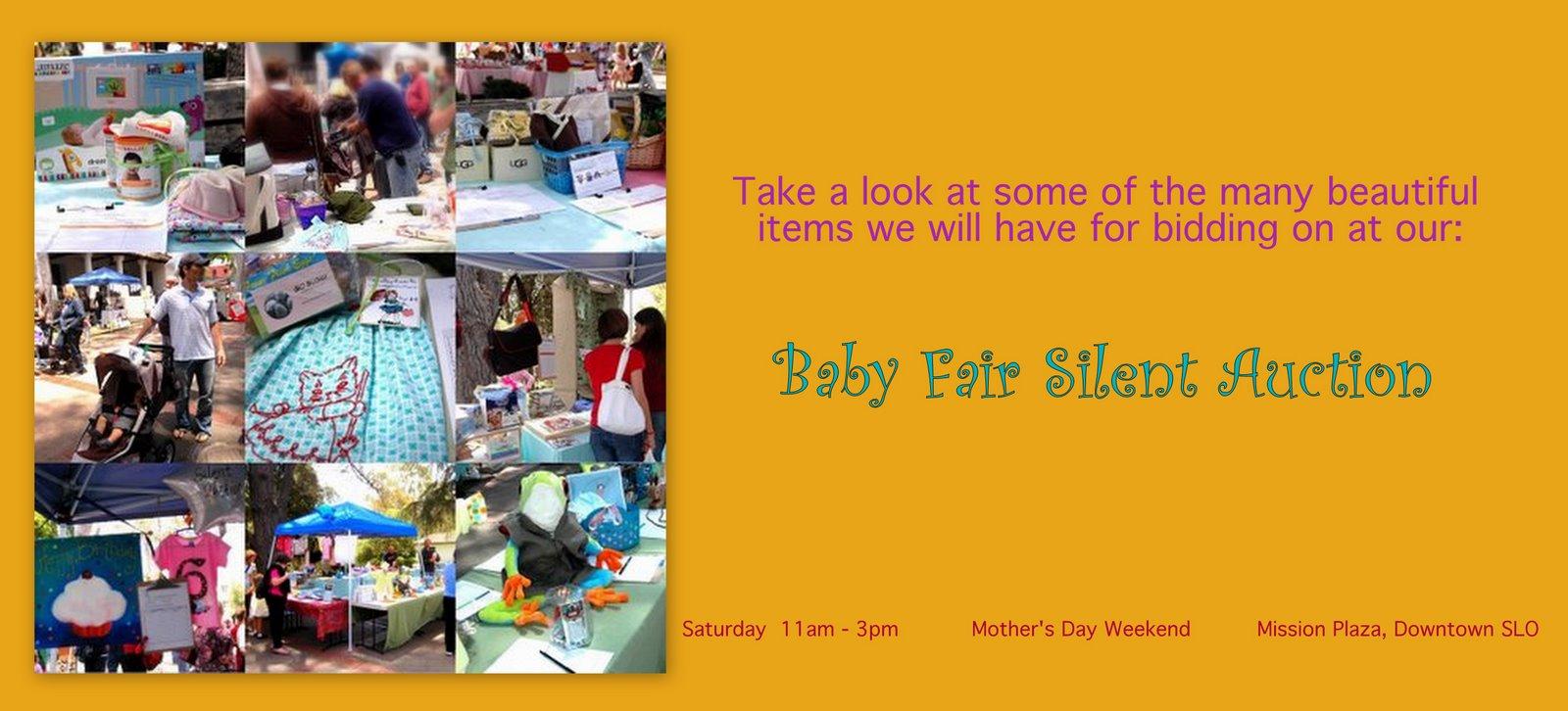2009 Baby Fair Silent Auction