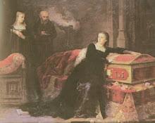 Juana Llorando la muerte