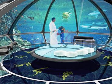 Tecnologia de punta en naves submarinas for El hotel que esta debajo del agua