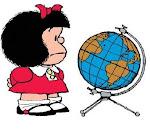 Adoro o jeito Mafalda de ver o mundo
