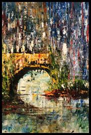 Titulo: Paisagem com ponte