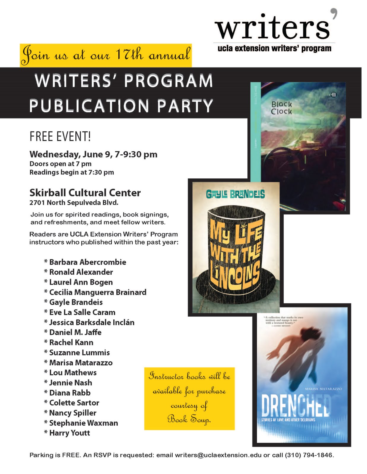 Creative Writing Ucla Extension The Best Of The Guests