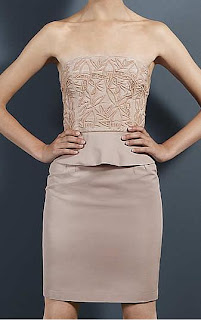 Stella McCartney | Target | Designers For Target Collection | Heavy Lace Embroidered Strapless Dress