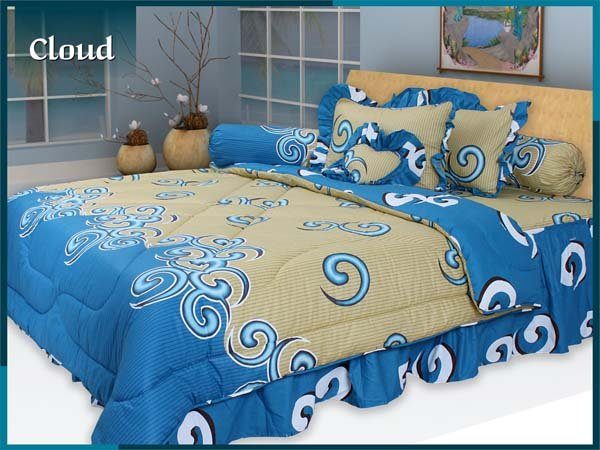 Sprei Bed Cover Murah Stock Ready Love Agustus