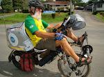 Valdo na bike