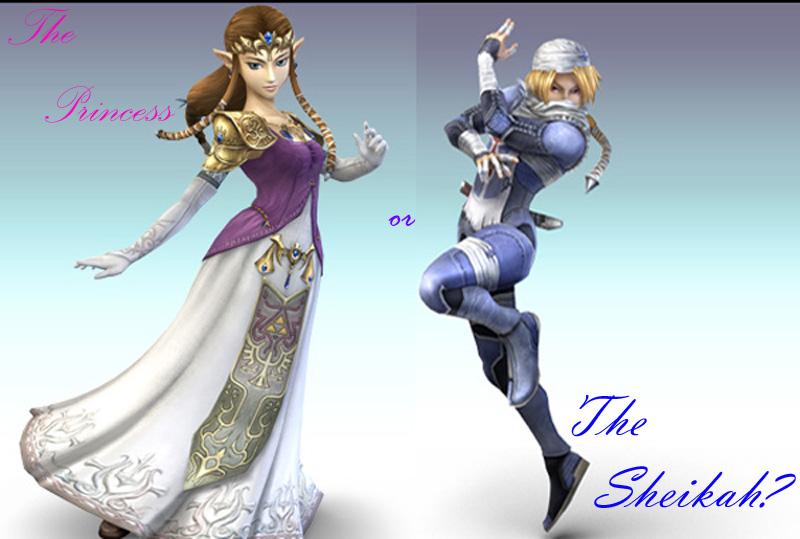 Sheikishly Zelda