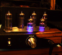 Aria Sonice Mini P1 Tube Headphone Intergrated Amplifier ( 4 x 6 AQ5, 2 X 5670)