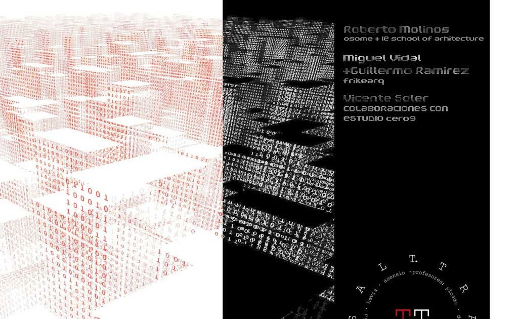 Rhino news etc conference arquitectura param trica madrid for Arquitectura parametrica pdf
