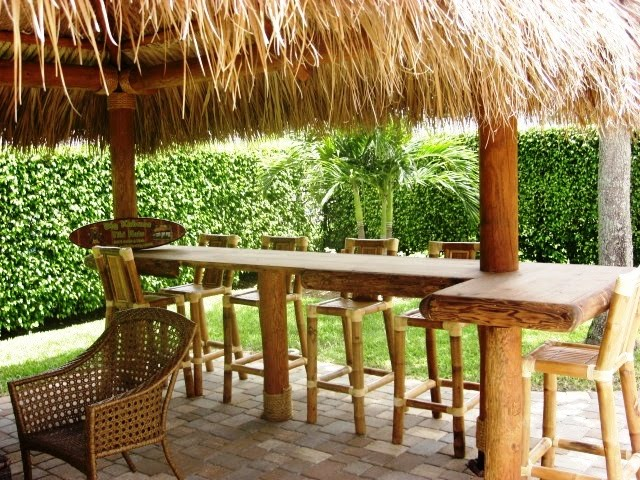 Tiki Backyard Coral Springs Florida