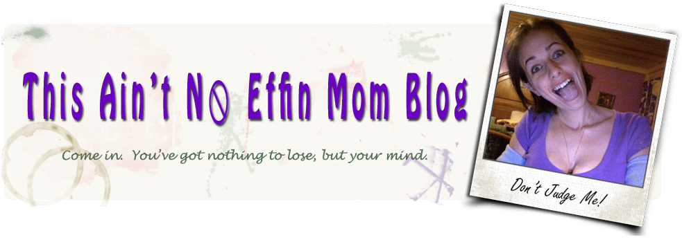 This Ain&#39;t No Effin Mom blog