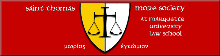 Saint Thomas More Society at Marquette University Law School