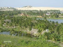 Vista do Cumbe das dunas