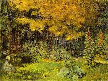le jardin - Manet