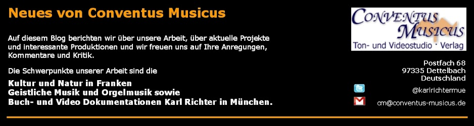 Neues von Conventus Musicus Dettelbach