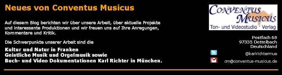 Neues von Conventus Musicus Dettelbach