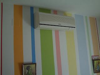Aplicacion de pinturas m sanchez habitacion infantil a - Aplicacion colores paredes ...