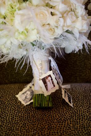 white feather wedding theme
