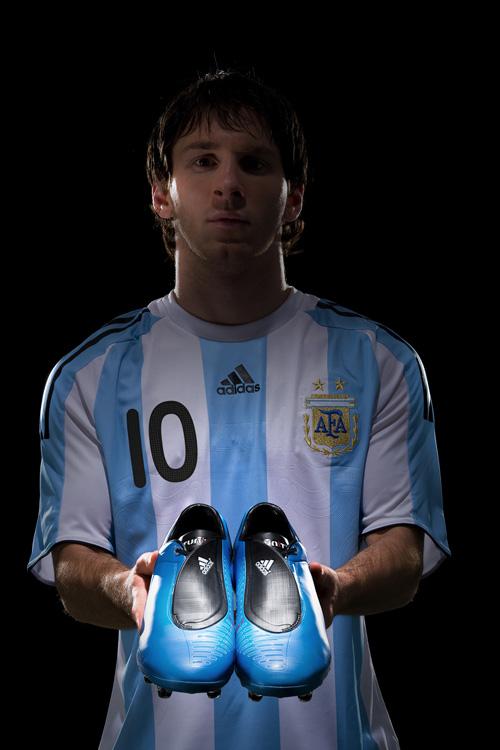 Zidane et Lionel Messi.