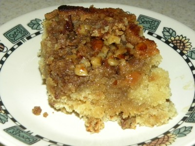 ... Super Pickle: Pecan Coffee Cake with Southern Comfort Caramel Sauce