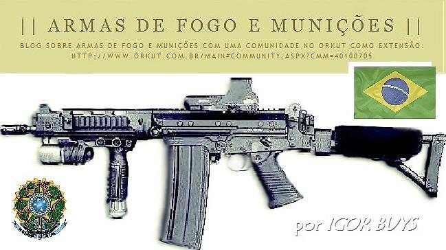 || ARMAS DE FOGO E MUNIÇÕES ||