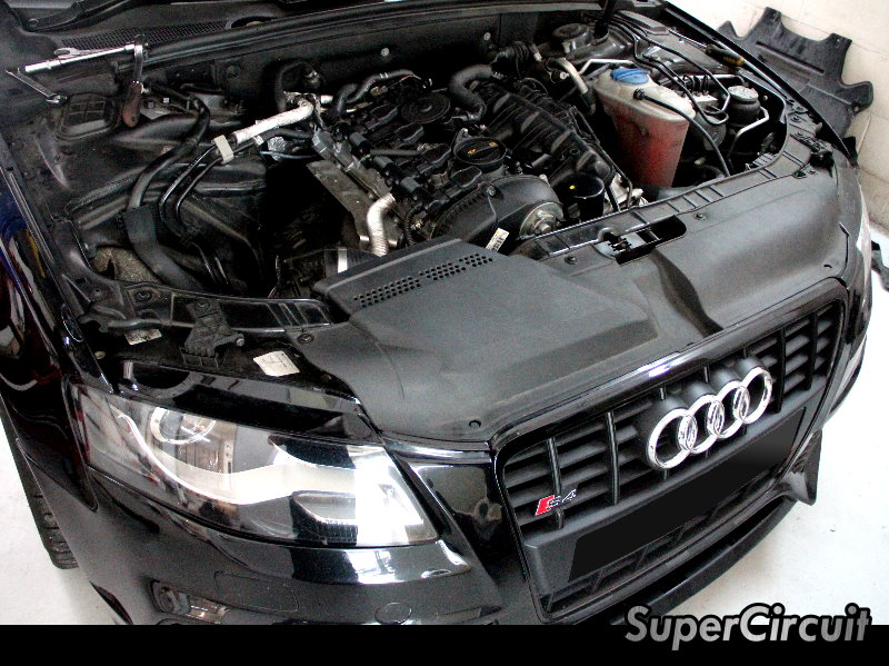 Supercircuit Exhaust Pro Shop Audi A4 B8 Downpipe Customized