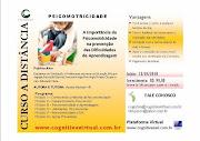 CURSO ON LINE PSICOMOTRICIDADE E DIFICULDADES DE APRENDIZAGEM- Autora e Tutora: Vanessa Machado