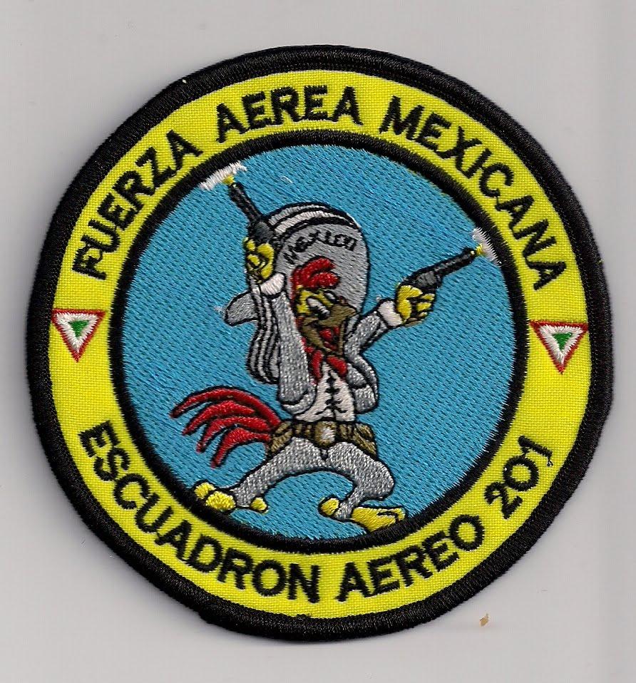 Parches de Escuadrones de la FAM VARIOS++10003