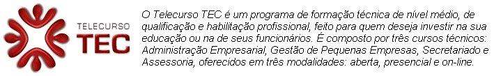 TELECURSO TEC