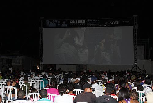 Pipoca e cinema de graça para todos