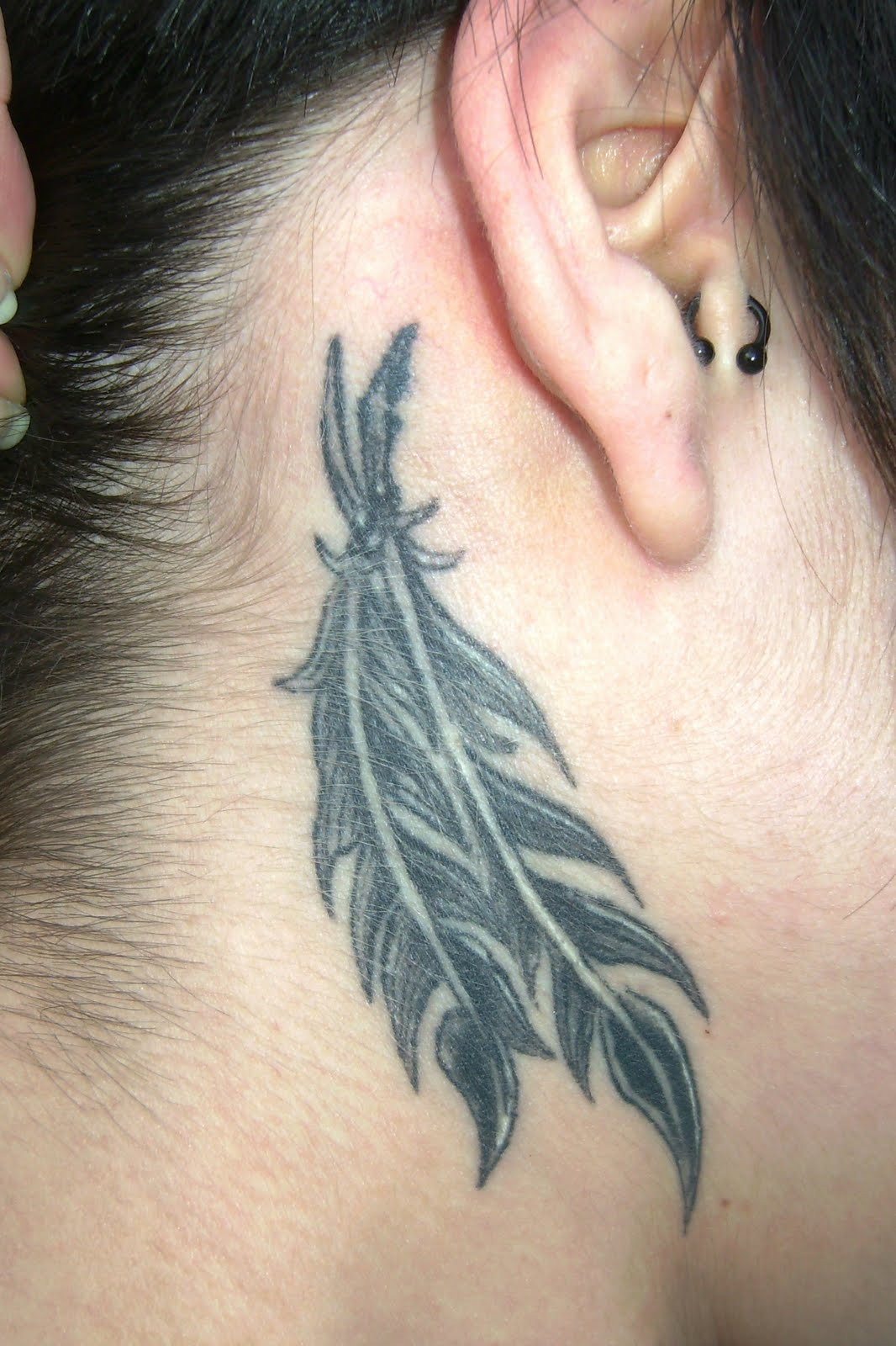 Down Feather Tattoo