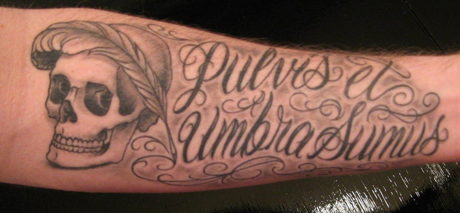 Lower Inner Arm Tattoos