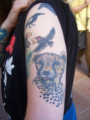 Cheetah Tattoo Design::.. by *DaRkRaVeNsTeAr on deviantART