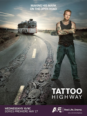 Win Prizes from the New A&E Real Life Series TATTOO HIGHWAY,