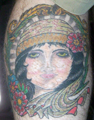 Tattoo by Steve Boltz of Smith Street Tattoo. As Americans head into our