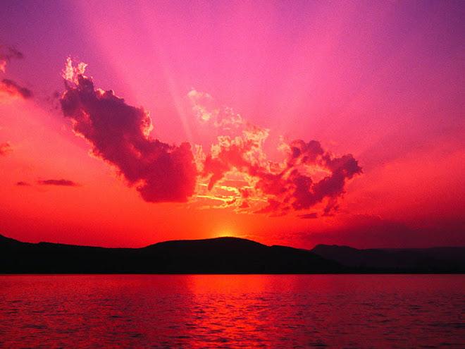 ¡ Mar, cielo, ocaso, contraste ...nostalgia !.