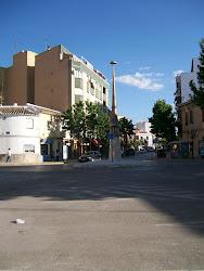 Calle Toledo y Obelisco.