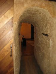 Pasadizo interior Castillo Pilas Bonas.