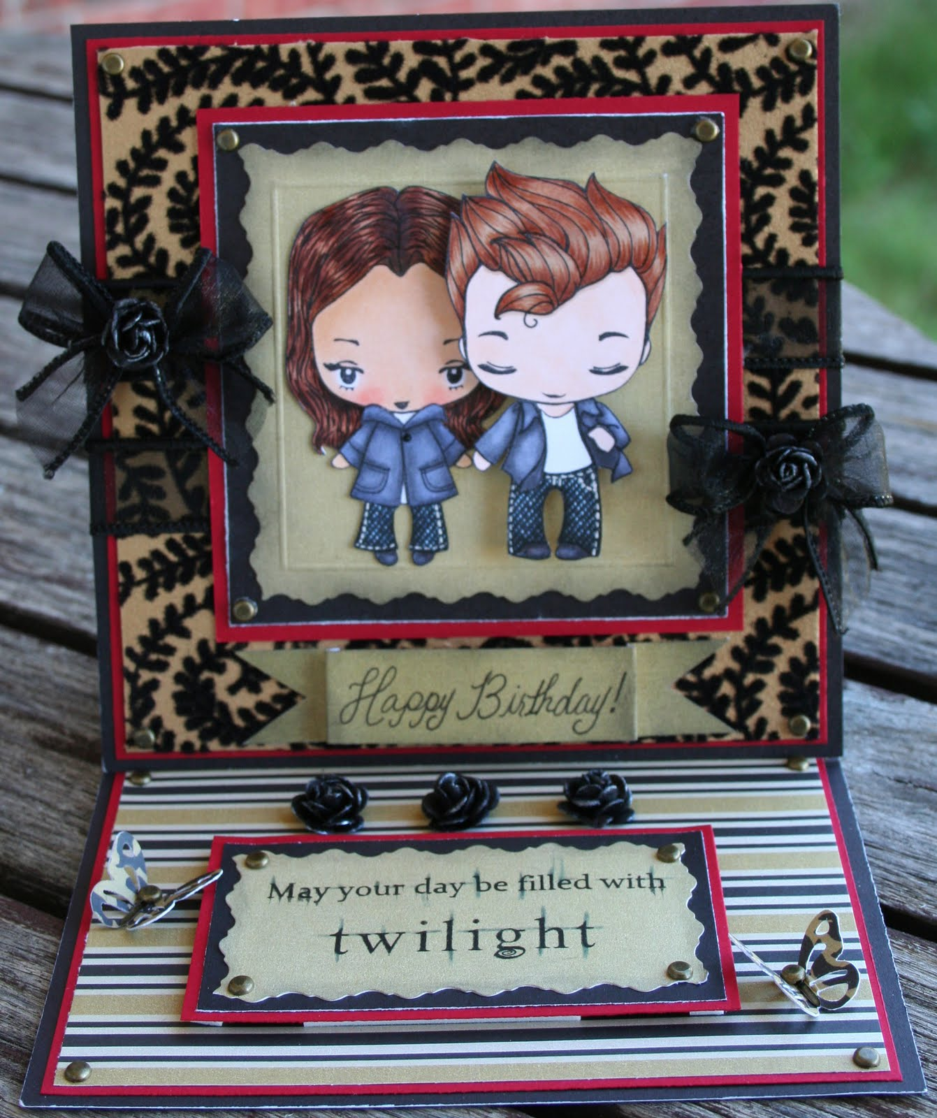 Rosemarys Creations Malias Twilight Birthday Card – Twilight Birthday Card