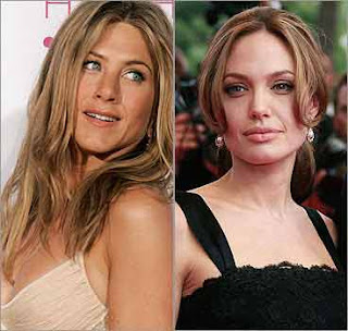 Jennifer Aniston received letter from Angelina Jolie