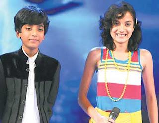 Akansha Sharma-Rouhan Abbas win 'Chhote Ustaad'