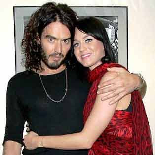 Katy Perry and Russell Brand on honeymoon