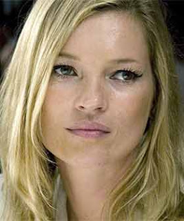 Kate Moss likes to smell good