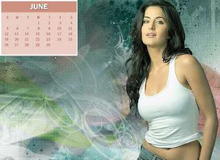 2011 Calendar - June